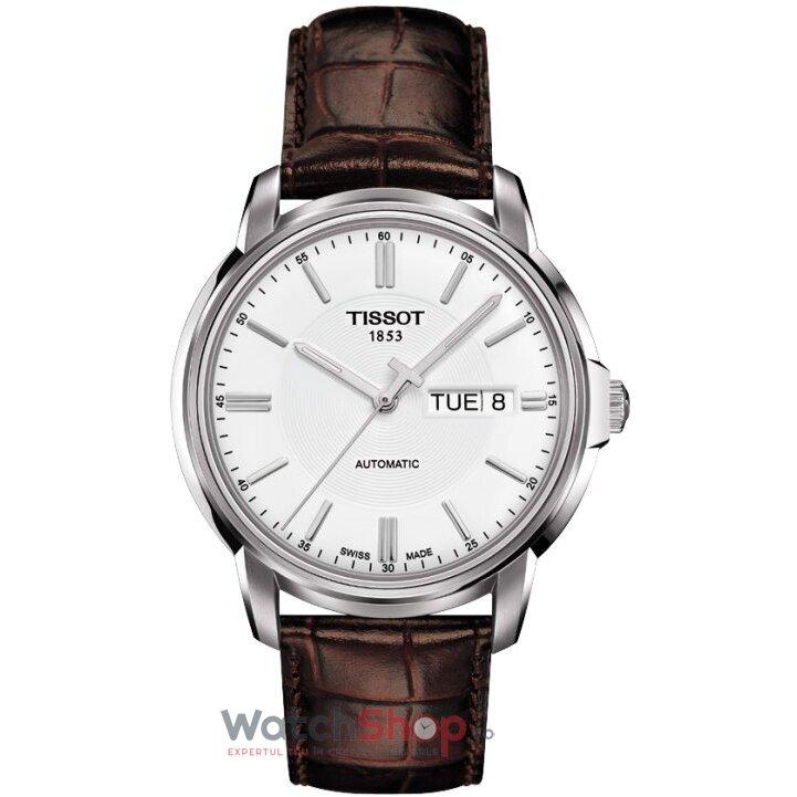 Ceas Tissot T-CLASSIC T065.430.16.031.00 Automatic III White barbatesc de mana