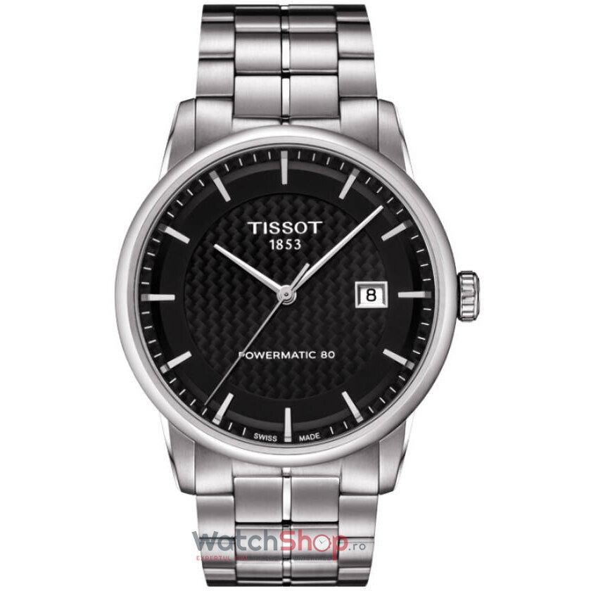 Ceas Tissot T-CLASSIC T086.407.11.201.02 Luxury Automatic barbatesc de mana