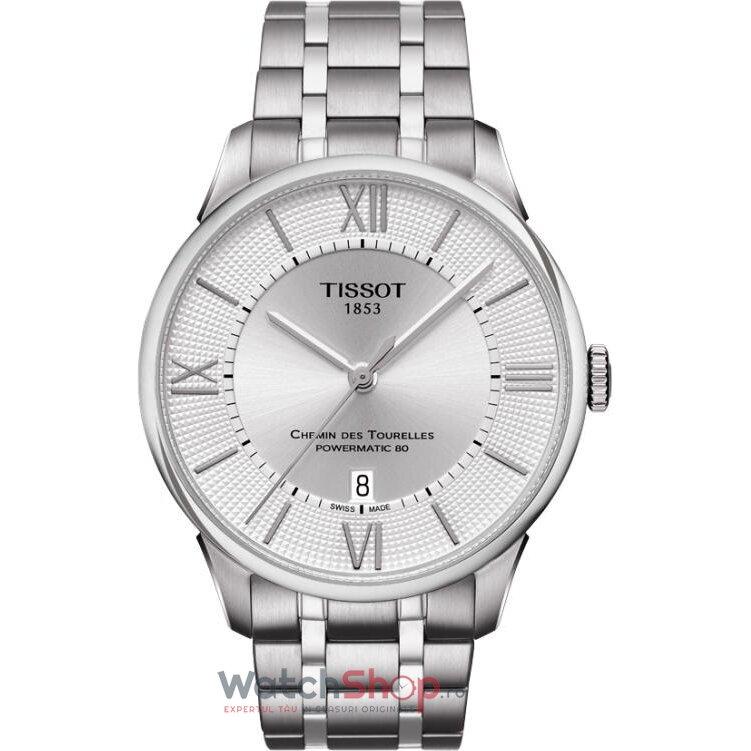 Ceas Tissot T-CLASSIC T099.407.11.038.00 Chemin Des Tourelles Automatic barbatesc de mana