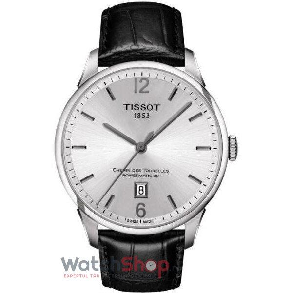 Ceas Tissot T-CLASSIC T099.407.16.037.00 Chemin Des Tourelles Automatic barbatesc de mana