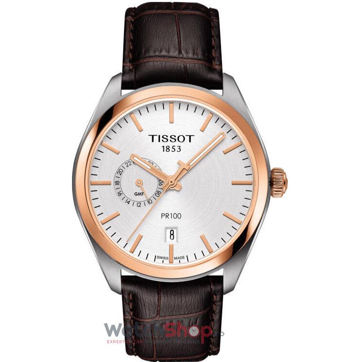 Ceas Tissot T-CLASSIC T101.452.26.031.00 PR 100 DUAL TIME barbatesc de mana