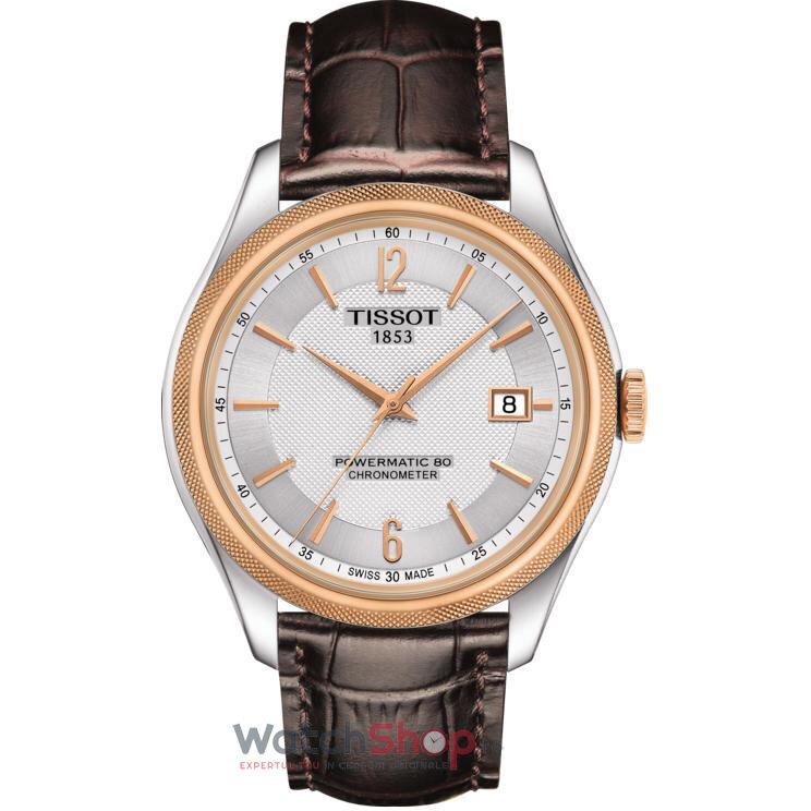 Ceas Tissot T-CLASSIC T108.408.26.037.00 Ballade Powermatic 80 COSC barbatesc de mana