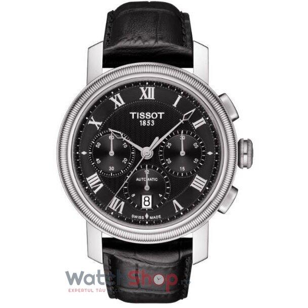 Ceas Tissot T-Classic Bridgeport T097.427.16.053.00 Cronograf Automatic barbatesc de mana
