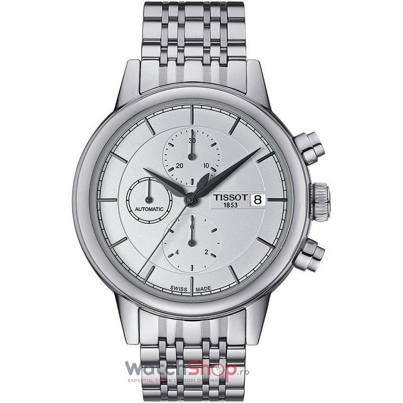 Ceas Tissot T-Classic Carson T085.427.11.011.00 Cronograf Automatic barbatesc de mana