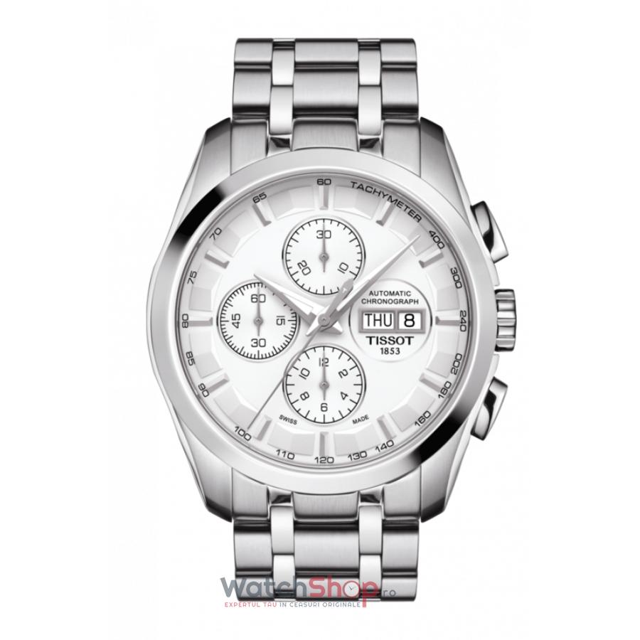 Ceas Tissot T-Classic Couturier T035.614.11.031.00 Cronograf Automatic barbatesc de mana