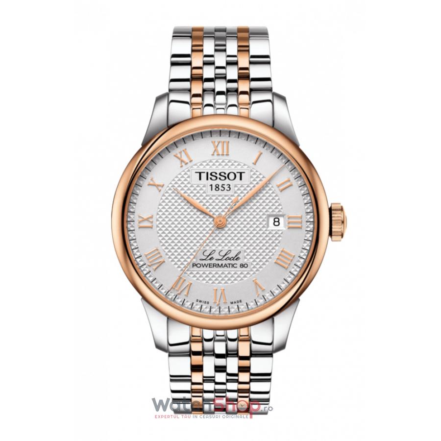 Ceas Tissot T-Classic Le Locle T006.407.22.033.00 Powermatic 80 Automatic barbatesc de mana