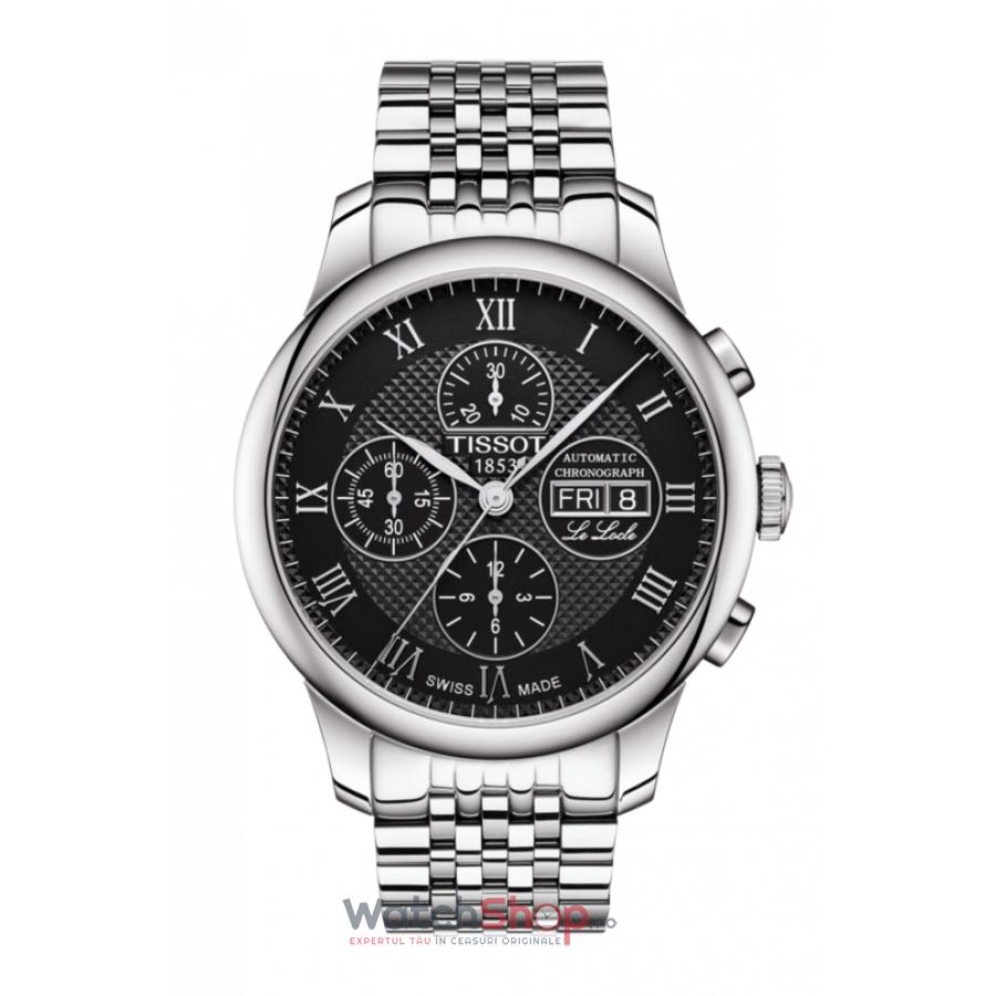 Ceas Tissot T-Classic Le Locle T006.414.11.053.00 Cronograf Automatic barbatesc de mana