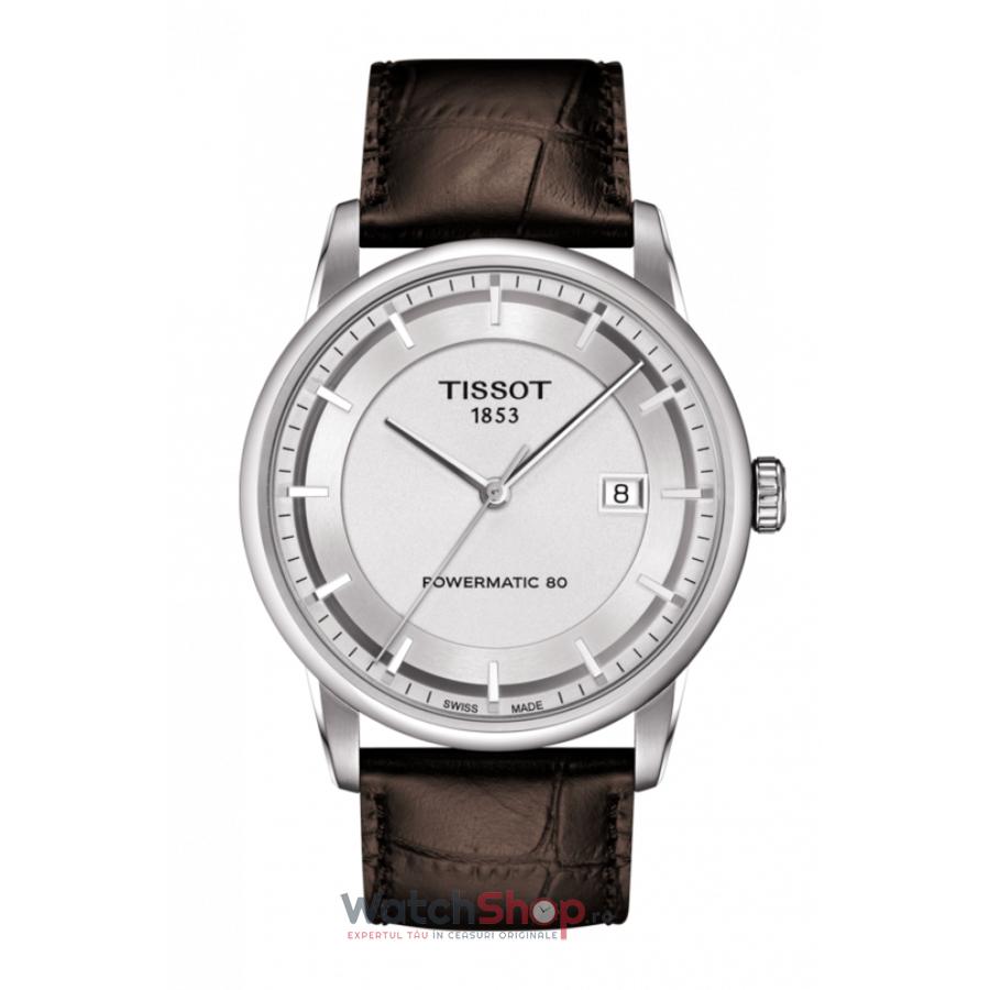 Ceas Tissot T-Classic Luxury T086.407.16.031.00 Powermatic 80 Automatic barbatesc de mana