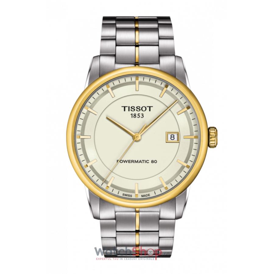 Ceas Tissot T-Classic Luxury T086.407.22.261.00 Powermatic 80 Automatic barbatesc de mana