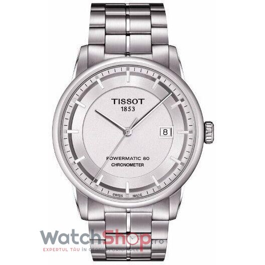 Ceas Tissot T-Classic Luxury T086.408.11.031.00 Powermatic 80 Automatic barbatesc de mana