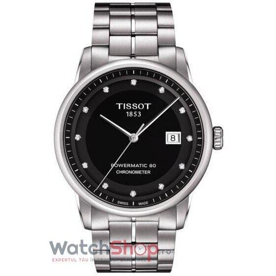 Ceas Tissot T-Classic Luxury T086.408.11.056.00 Powermatic 80 Automatic COSC barbatesc de mana
