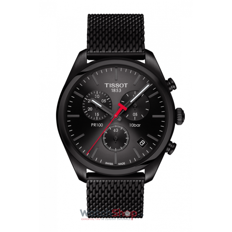 Ceas Tissot T-Classic PR 100 T101.417.33.051.00 Cronograf barbatesc de mana