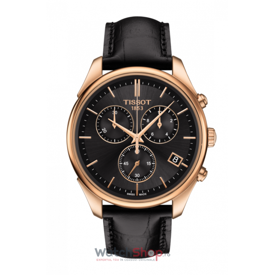 Ceas Tissot T-Gold T920.417.76.441.00 Vintage Cronograf barbatesc de mana