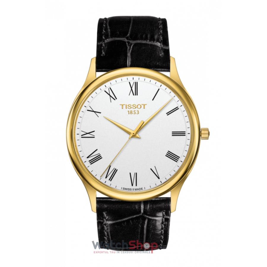 Ceas Tissot T-Gold T926.410.16.013.00 Excellence 18k Gold barbatesc de mana