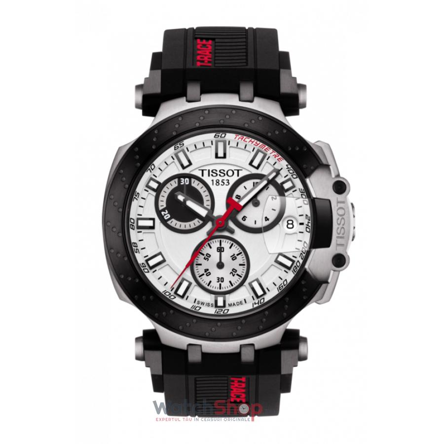 Ceas Tissot T-Race T115.417.27.011.00 Cronograf barbatesc de mana