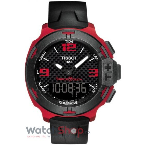 Ceas Tissot T-Race Touch T081.420.97.207.00 barbatesc de mana