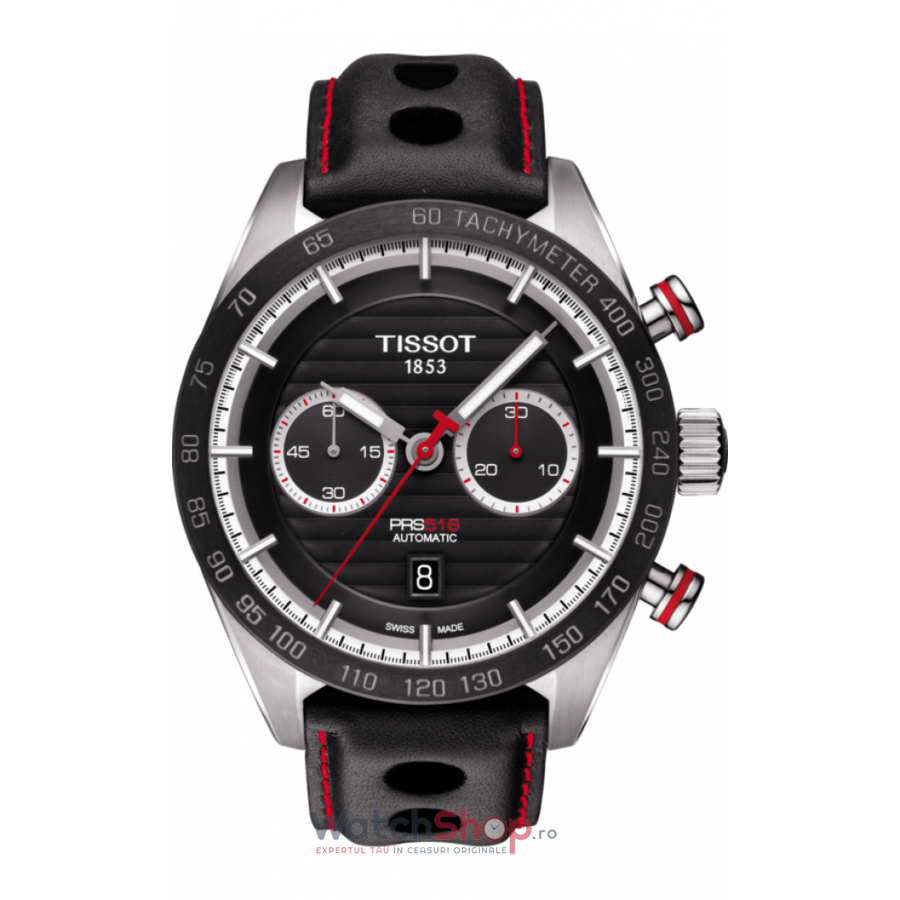 Ceas Tissot T-SPORT PRS 516 T100.427.16.051.00 Cronograf Automatic barbatesc de mana
