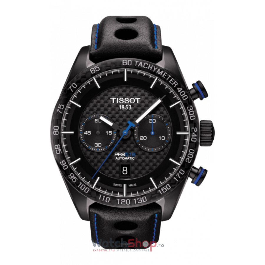 Ceas Tissot T-SPORT PRS 516 T100.427.36.201.00 Cronograf Automatic barbatesc de mana