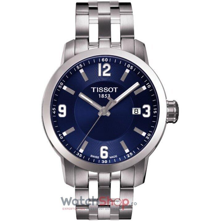 Ceas Tissot T-SPORT T055.410.11.047.00 PRC 200 Blue barbatesc de mana