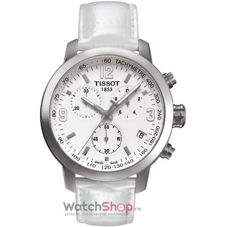 Ceas Tissot T-SPORT T055.417.16.017.00 PRC 200 White barbatesc de mana