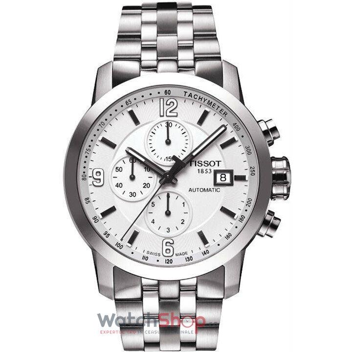 Ceas Tissot T-SPORT T055.427.11.017.00 PRC 200 Automatic Chronograf barbatesc de mana