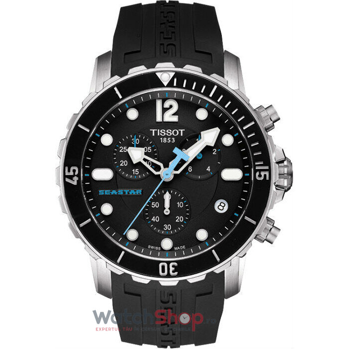 Ceas Tissot T-SPORT T066.417.17.057.00 Seastar 1000 Cronograf barbatesc de mana