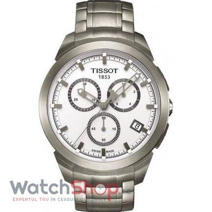 Ceas Tissot T-SPORT T069.417.44.031.00 Titanium Cronograf barbatesc de mana