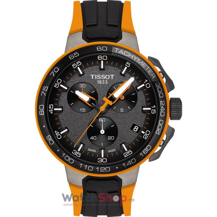 Ceas Tissot T-SPORT T111.417.37.441.04 T-Race Cycling Cronograf barbatesc de mana