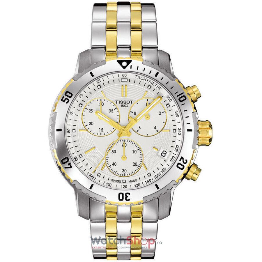 Ceas Tissot T-Sport PRS 200 T067.417.22.031.01 Cronograf barbatesc de mana