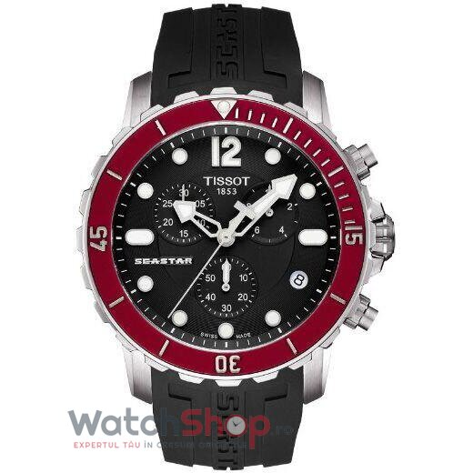 Ceas Tissot T-Sport Seastar 1000 T066.417.17.057.01 Cronograf barbatesc de mana
