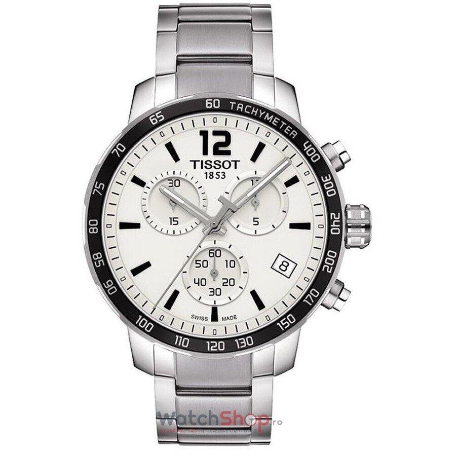 Ceas Tissot T-Sport T095.417.11.037.00 Quickster Cronograf barbatesc de mana