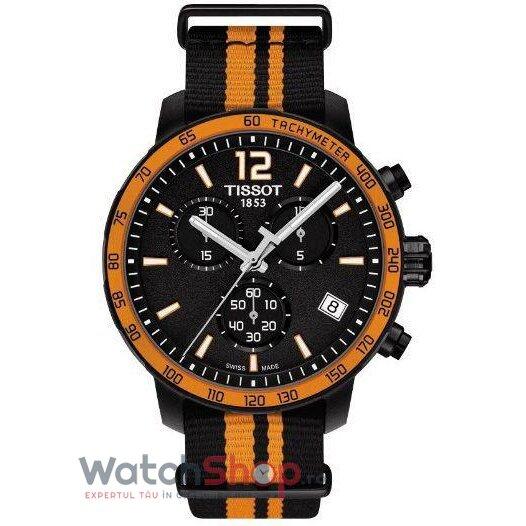 Ceas Tissot T-Sport T095.417.37.057.00 Quickster Cronograf barbatesc de mana