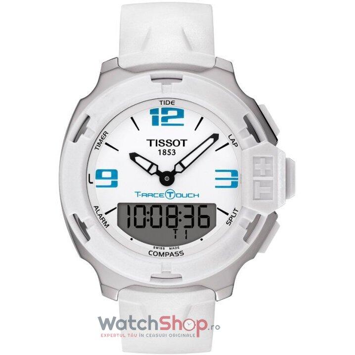 Ceas Tissot TOUCH COLLECTION T081.420.17.017.01 T-Race Touch barbatesc de mana