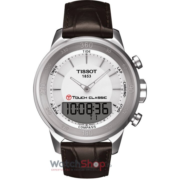 Ceas Tissot TOUCH COLLECTION T083.420.16.011.00 T-Touch Classic barbatesc de mana