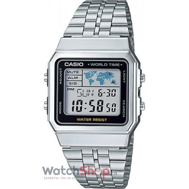 Ceas Casio RETRO A500WA-1DF original pentru barbati