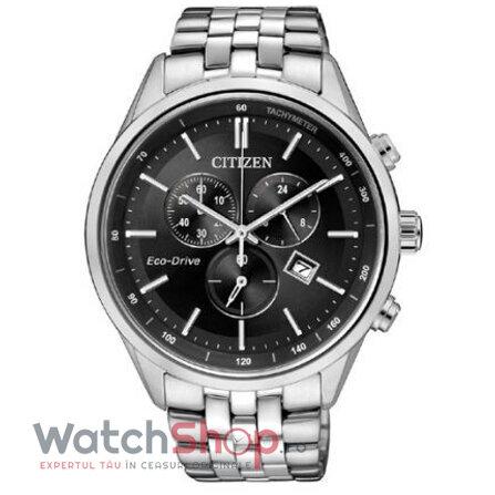 Ceas Citizen Eco Drive AT2140-55E Cronograf original pentru barbati
