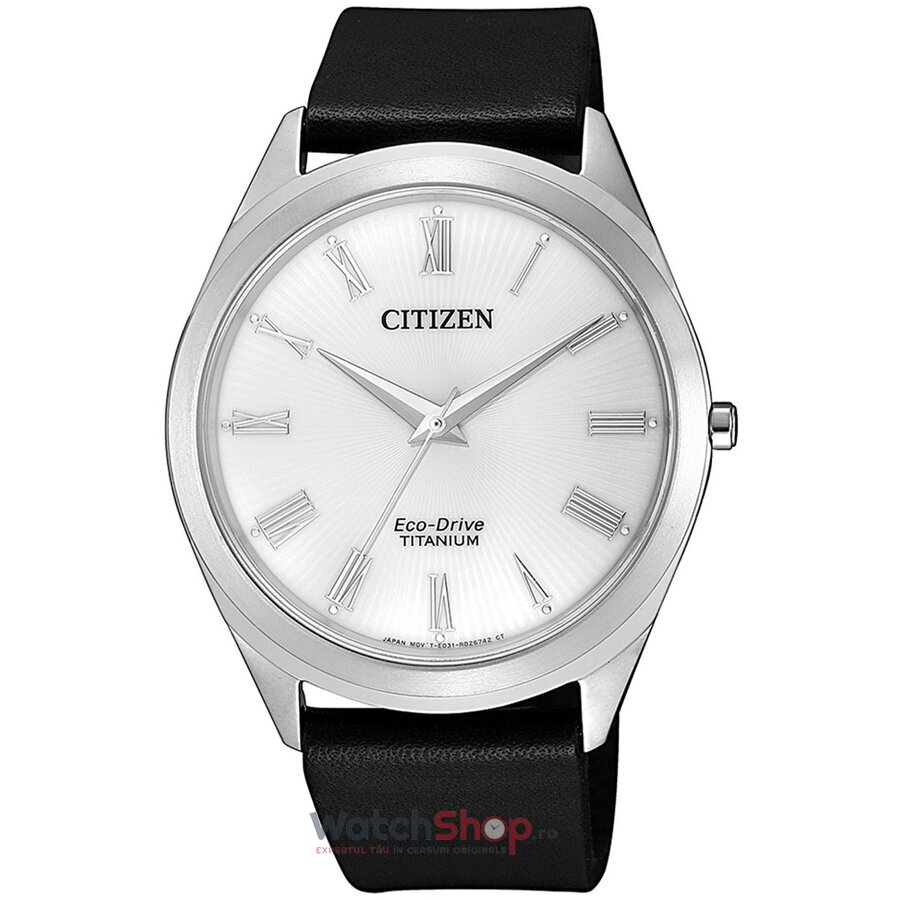 Ceas Citizen Eco Drive BJ6520-15A Titanium original pentru barbati