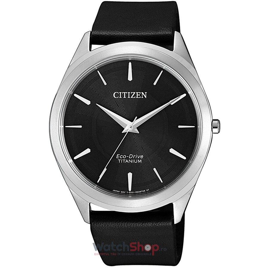 Ceas Citizen Eco Drive BJ6520-15E Titanium original pentru barbati