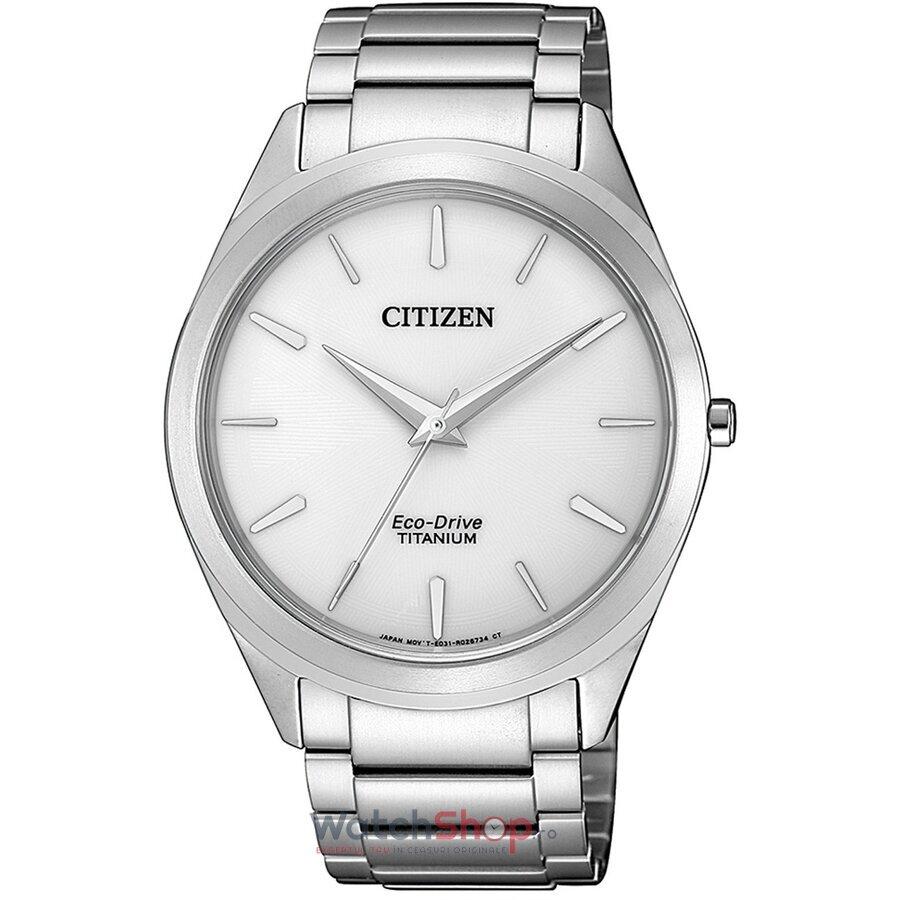 Ceas Citizen Eco Drive BJ6520-82A Titanium original pentru barbati