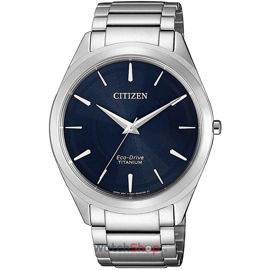 Ceas Citizen Eco Drive BJ6520-82L Titanium original pentru barbati