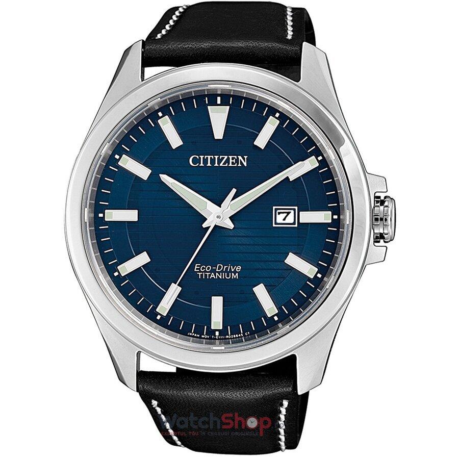 Ceas Citizen Eco Drive BM7470-17L Titanium original pentru barbati