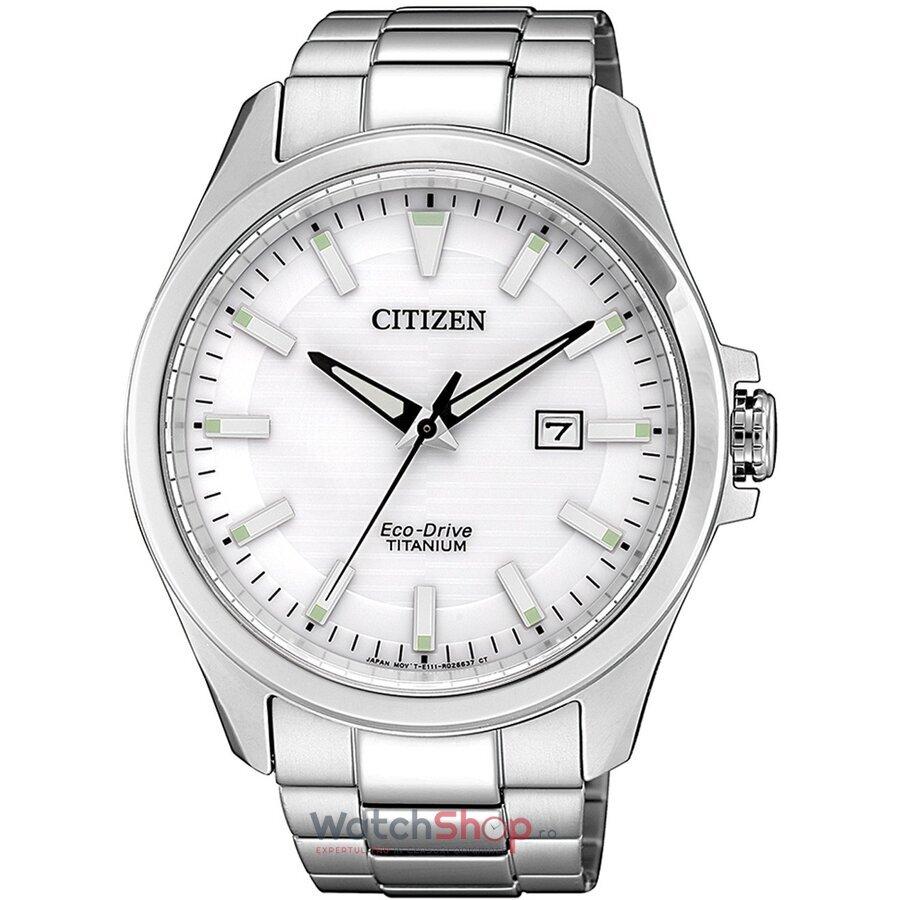 Ceas Citizen Eco Drive BM7470-84A Titanium original pentru barbati