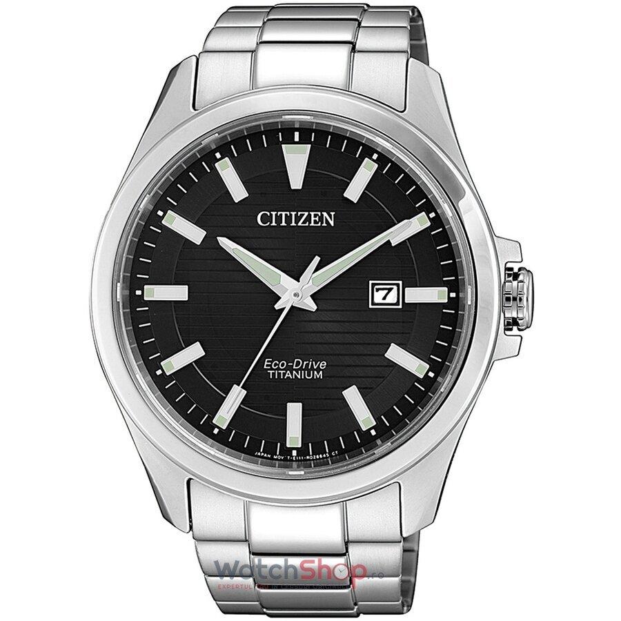 Ceas Citizen Eco Drive BM7470-84E Titanium original pentru barbati