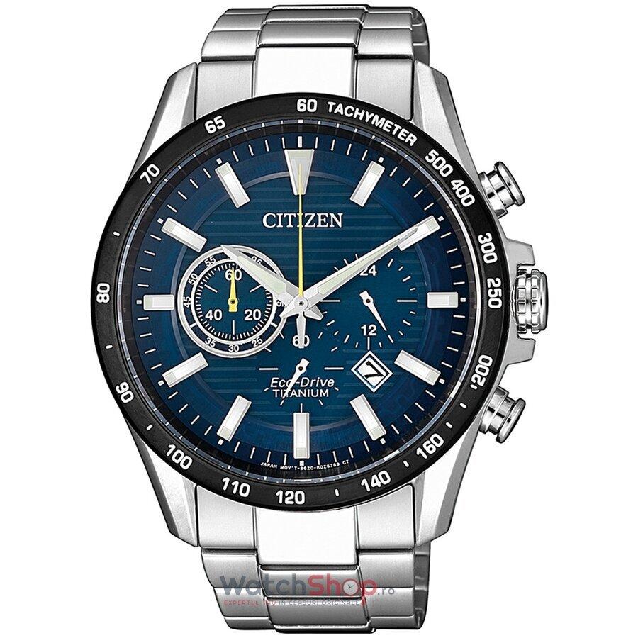 Ceas Citizen Eco Drive CA4444-82L Titanium Cronograph original pentru barbati