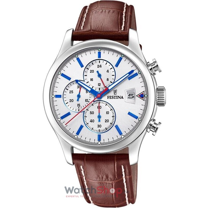 Ceas Festina Timeless F20375/1 Chronograph original pentru barbati