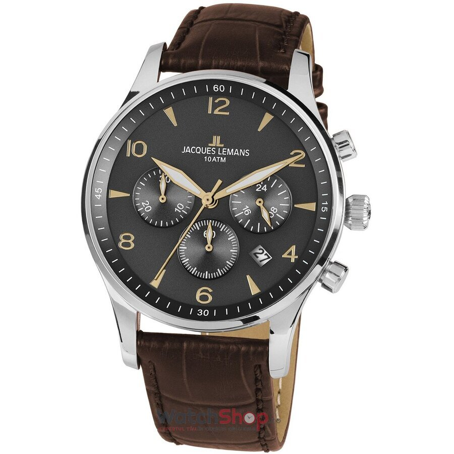 Ceas JacquesLemans London 1-1654ZJ Chronograph original pentru barbati