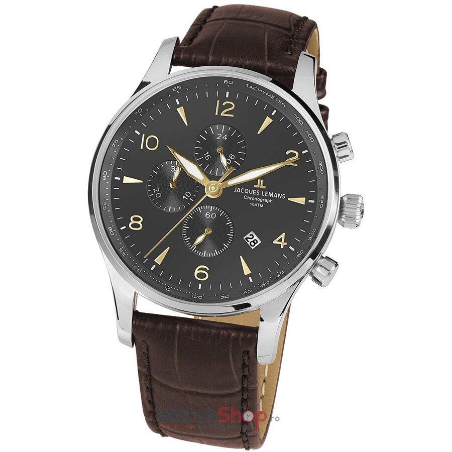Ceas JacquesLemans London 1-1844ZJ Chronograph original pentru barbati