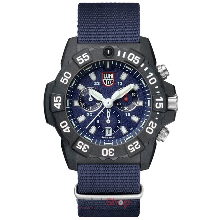 Ceas Luminox Navy Seal XS.3583.ND Cronograf original pentru barbati