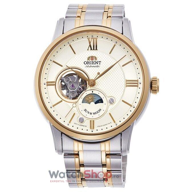 Ceas Orient Sun and Moon RA-AS0001S00B Automatic original pentru barbati