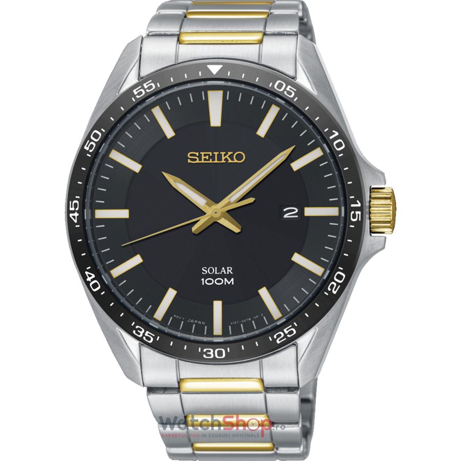 Ceas Seiko Solar SNE485P1 original pentru barbati